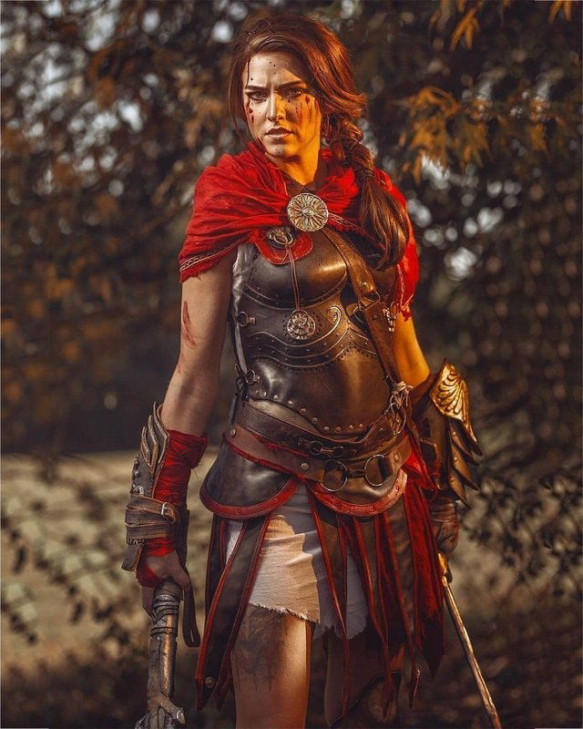 Cosplayer Pays Tribute To Assassin S Creed Odyssey S Kassandra And Many Other Familar Characters Gaming Thrill